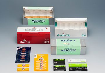 Packaging for cigarette paper from Cima