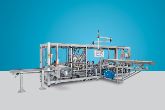 Packaging line for modeling clay