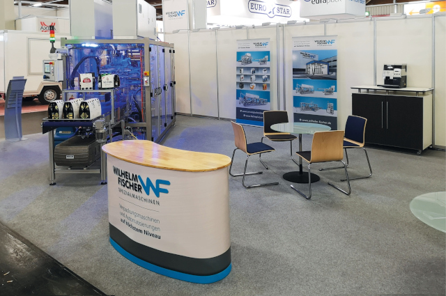 Our Exhibition stand BrauBeviale in Nuremberg