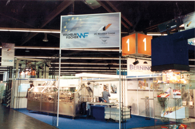 The Exhibition stand at the Fachpack 2000 in Nuremberg