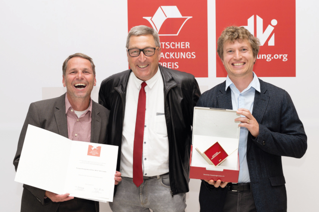 Award of the German Packaging Prize 2019